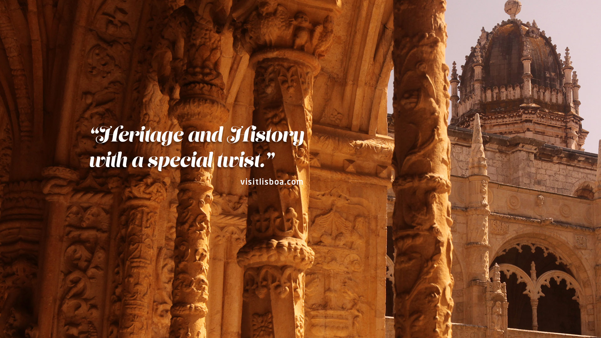 """Heritage and History with a special twist."" visitlisboa.com"