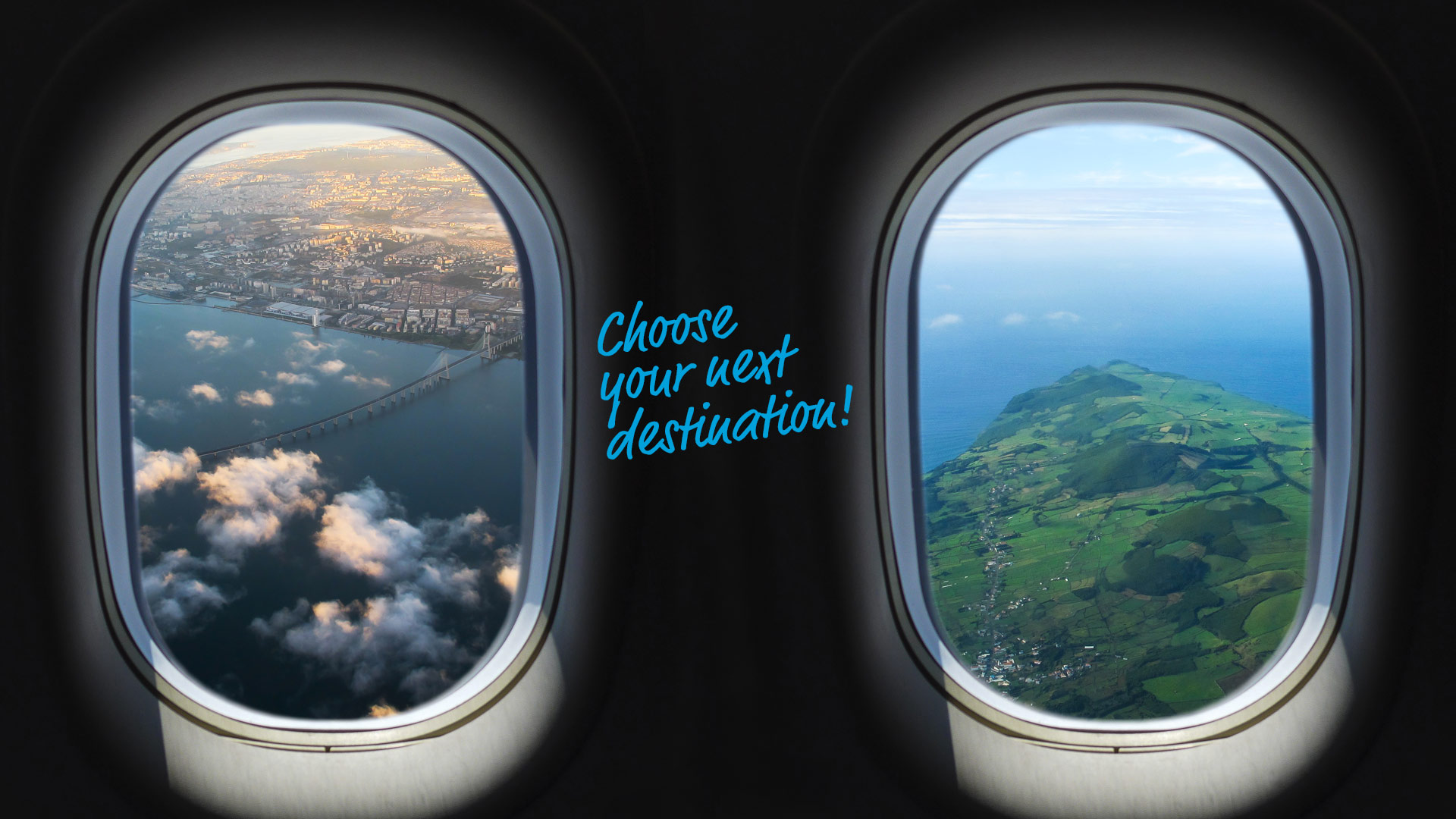 Choose your next destination!