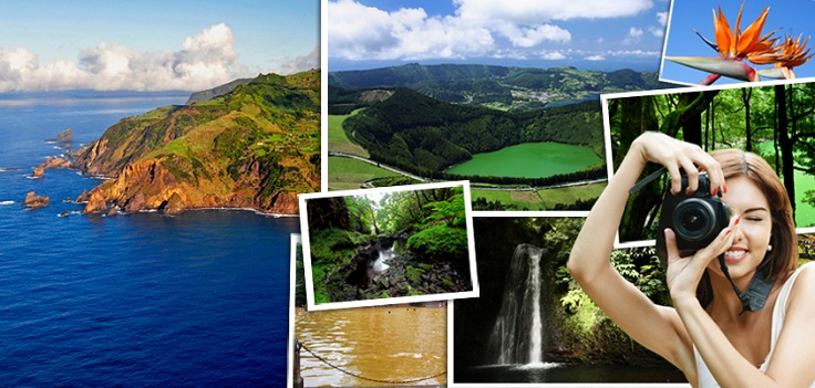Azores - landscapes, sea, lakes, nature