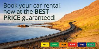 Book your car rental now at the Best Price guaranteed!