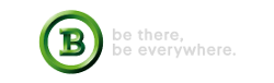 Be there, be everywhere logo